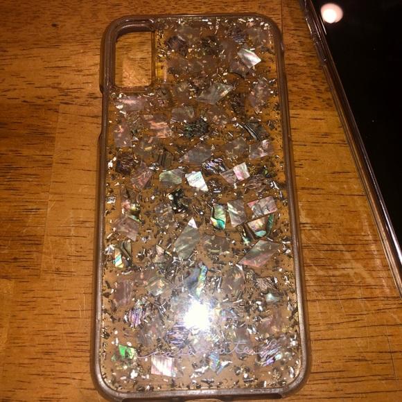 "best website c79fa ba479 iPhone X/Xs Case Mate Karat ""Mother of Pearl"" Case"